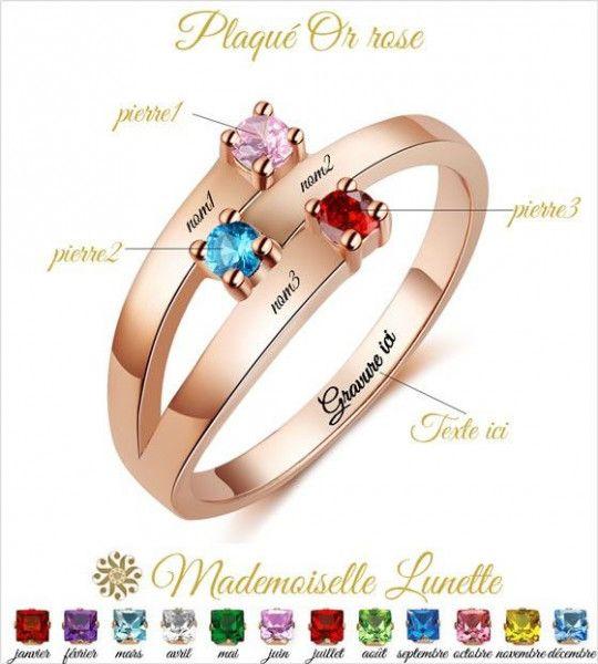 bague-rose-rhodium-3-pierre-de-naissance-et-gravure-3-prenoms-bague-maman