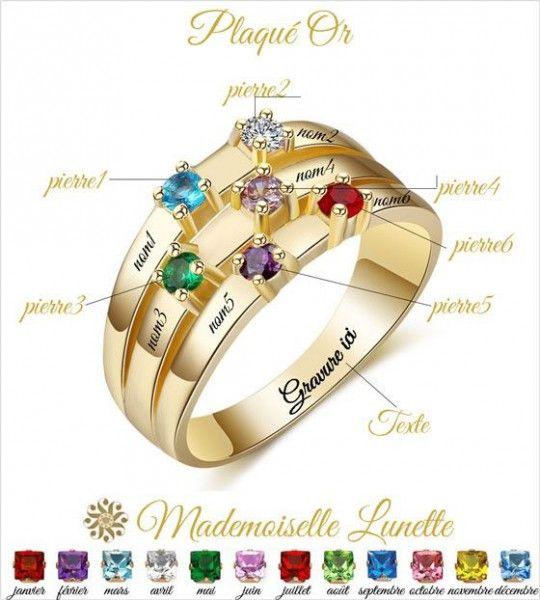 bague-or-avec-6-pierres-de-naissance-et-6-noms-graves-bague-bijou-pour-maman-bague-famille
