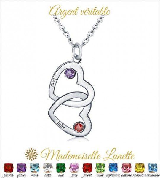 collier-maman-double-coeur-entrelace-en-argent-pour-maman-et-2-pierre-de-naissance-gravure-2-prenom