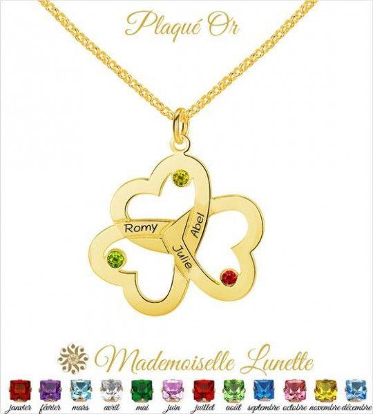 collier-or-3-coeurs-entrelacés-pour-maman-3-pierres-coeur-en-argent-pour-maman-et-3-gravure-prenoms
