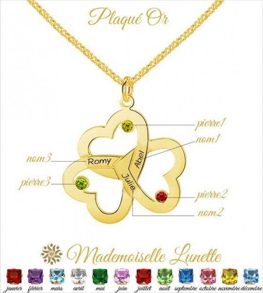 collier-femme-plaque-or-avec-3-coeurs-avec-gravure-3-noms