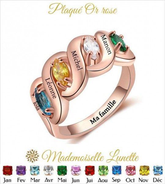 bague-signe-infini-avec-quatre-pierres-naissance-dans-deux-infini-entrelaces-bague-or-rose
