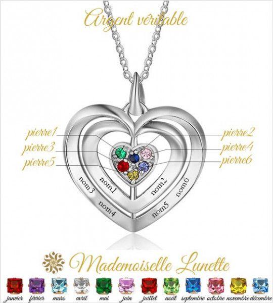 collier-triple-coeur-enlaces-avec-gravure-de-6-prenoms-et 6-pierres-de-naissance-en-fonction-du-signe