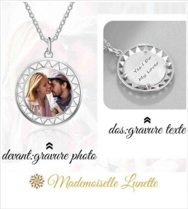 collier maman personnalisable avec photo