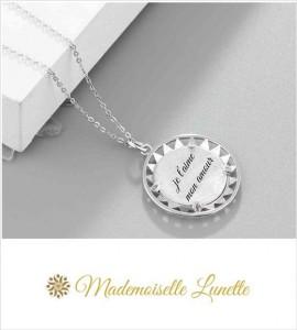gravure personnalisée sur collier bijou photo