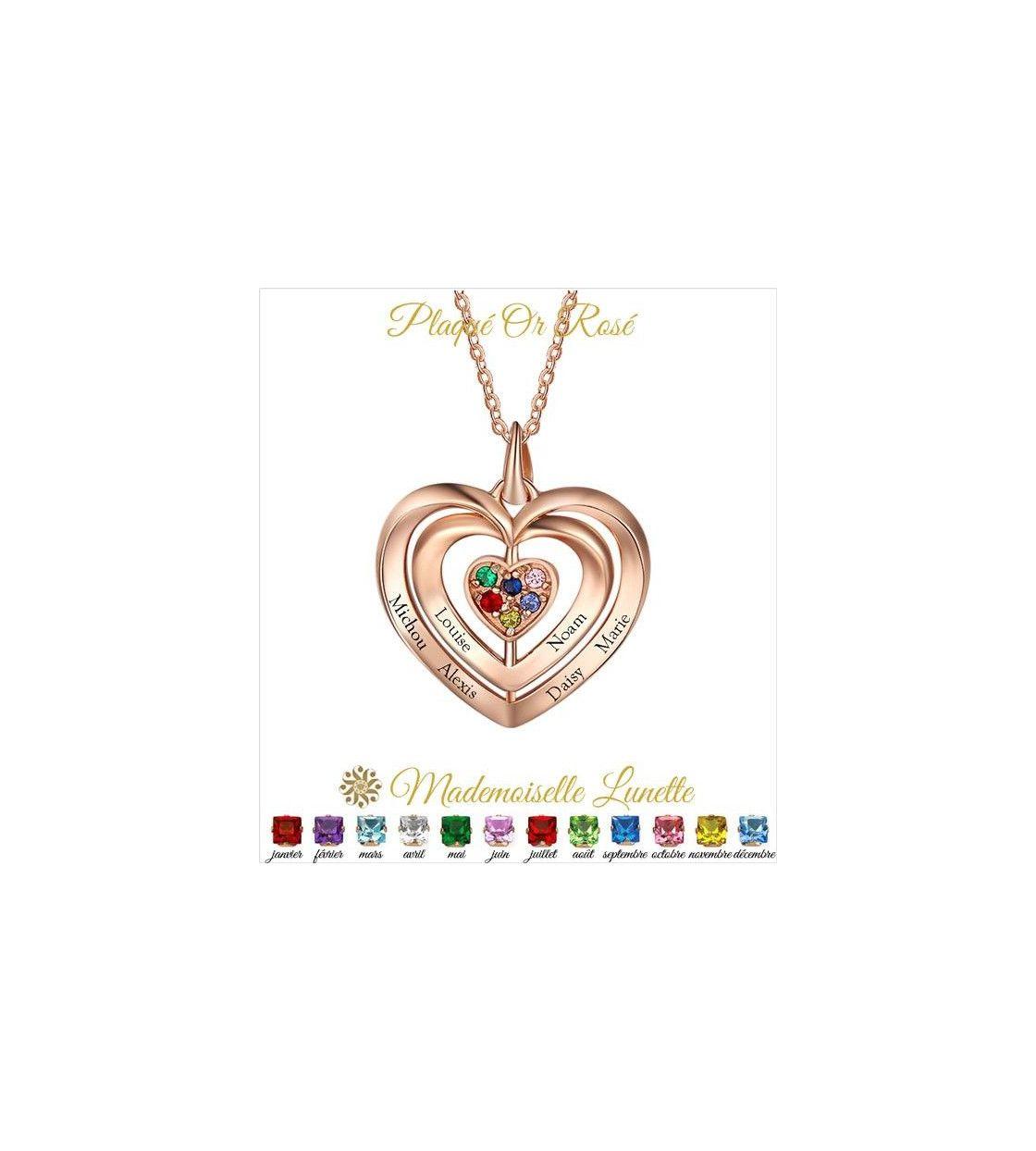 collier-maman-triple-coeur-en-or-rose-avec-6-pierres-de-naissance-gravure-6-prenoms
