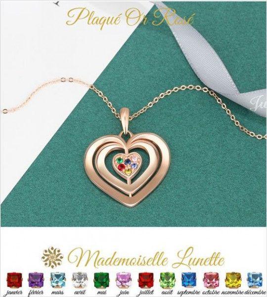 collier-or-rose-coeur-a-personnaliser-avec-6-noms-et-6-pierre-de-naissance