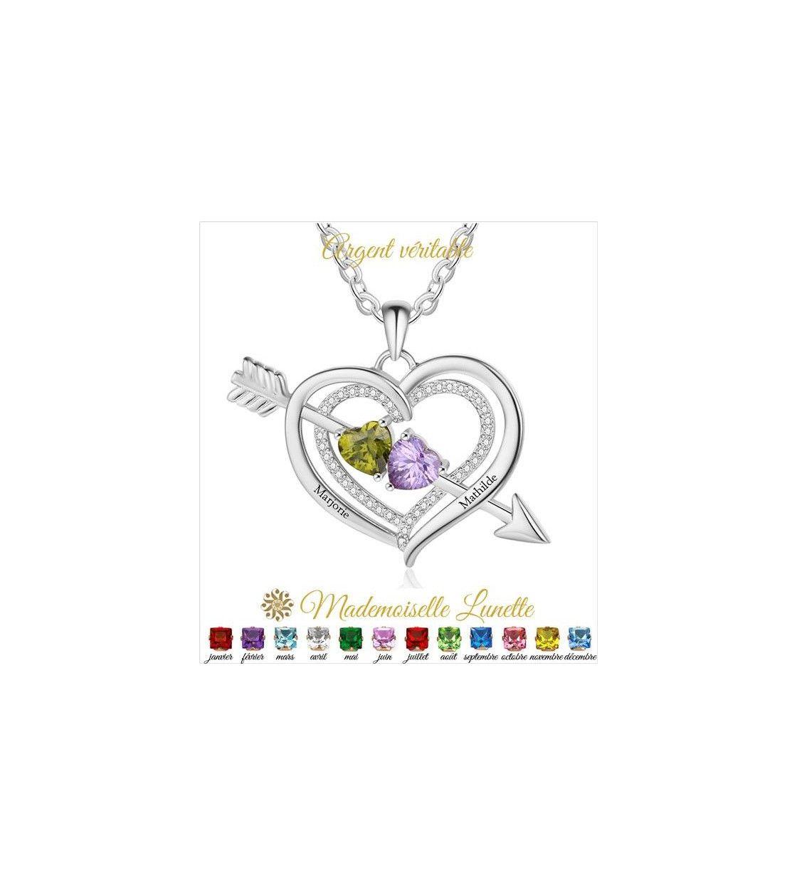 collier-coeur-fleche-argent-gravure-2-nom-et-2-pierre-naissance