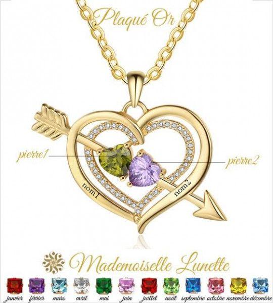 collier-maman-2-pierres-coeur-en-or-pour-maman-et-2-gravure-prenoms