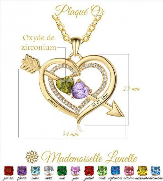 collier-grand-coeur-avec-fleche-or-pour-maman-et-femme-avec-2-pierres-et-2-prenoms-offerts
