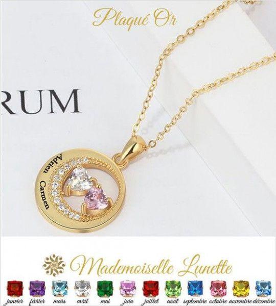 collier-cercle-rond-or-avec-gravure-deux-noms-et-deux-pierres-cristal