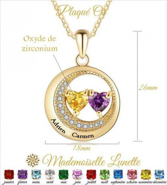 collier-pendentif-rond-2-pierre-forme-coeur-et-2-noms-gravure-offerte-cadeau-saint-valentin