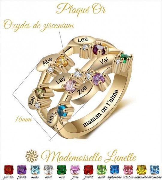 bague-plaque-or-personnalisable-femme-7-noms-7-pierres-naissance
