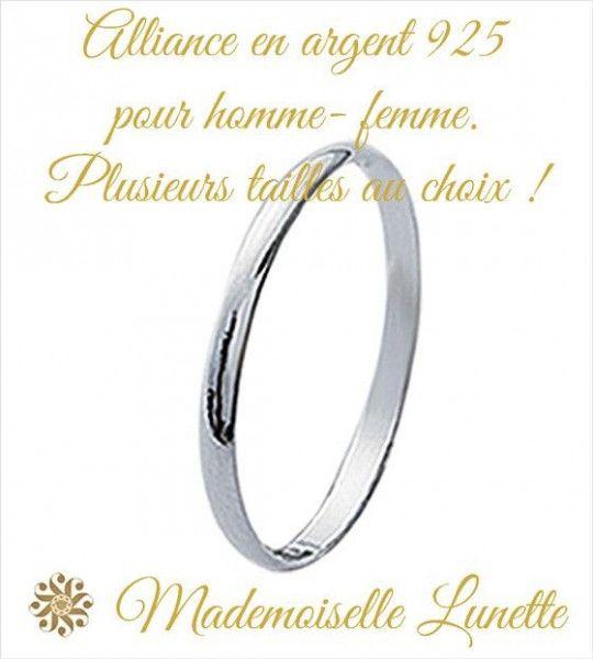 alliance-de-mariage-anneau-de-fiancailles-alliance-argent-pas-cher