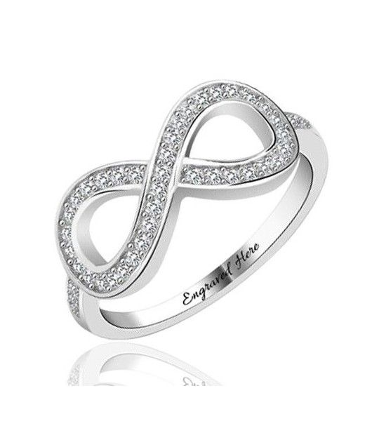 bague-signe-infini-avec-oxyde-zirconium-amour-eternel-en-argent