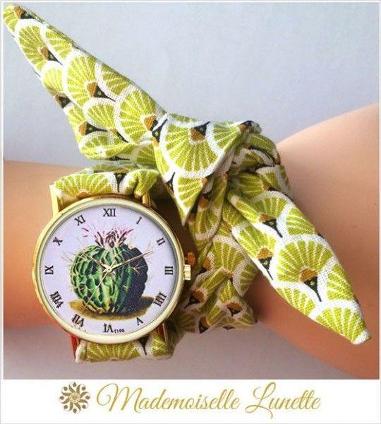 montre-bracelet-ruban-interchangeable-motif-cactus-montre-pour-femme