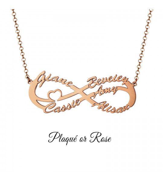 collier-pas-cher-avec-signe-de-l-infini-et-gravure-5-prenoms-collier-infini-plaqué or-rosé