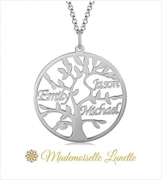 Collier personnalisable maman - cadeau fête des maman- Anniversaire-Naissance  - 1