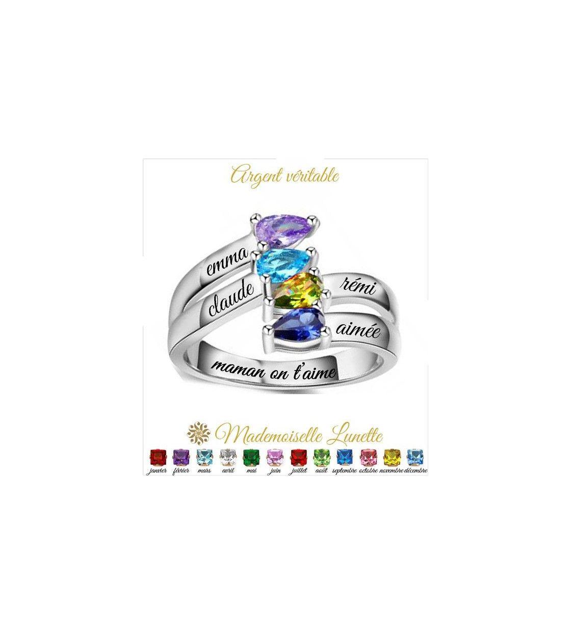 bague-maman-argent-avec-quatre-pierres-naissance-ovale-et-quatre-gravure-prenom-enfant