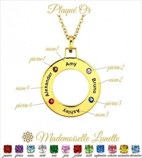 collier-en-plaque-or-pour-graver-quatre-prenoms-et-quatre-pierres-de-naissance
