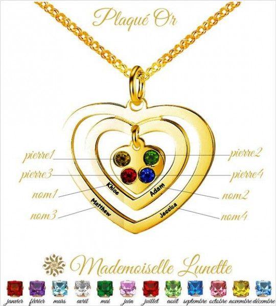 collier-maman-plaque-or-quatre-pierres-cristal-et-4-gravure-prenoms