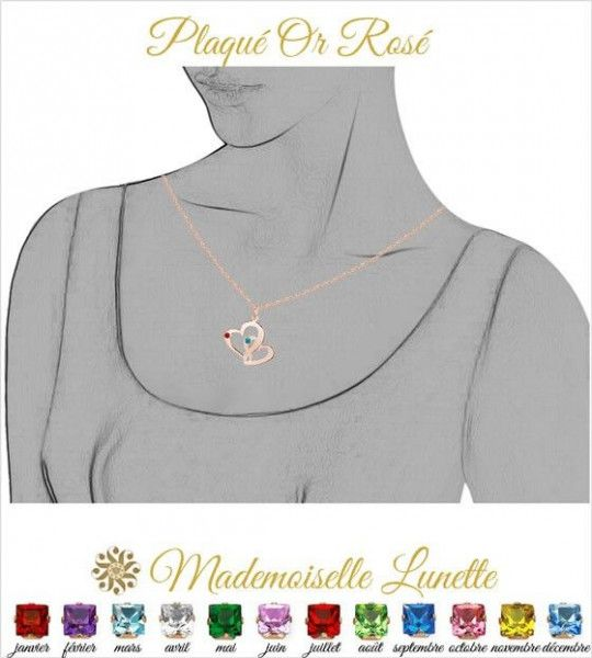 collier-maman-plaque-or-rose-pas-cher-personnalisable