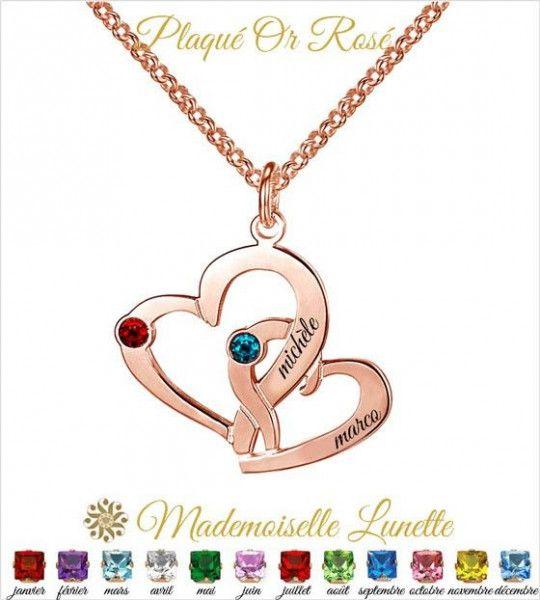 collier-double-coeur-or-rose-avec-gravure-noms-et-pierres-cristal