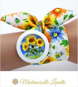 montre-bracelet-ruban-interchangeable-motif-fleur-tournesol-montre-pour-maman