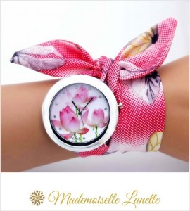montre-bracelet-ruban-interchangeable-motif-fleur-tulipe-montre-pour-maman